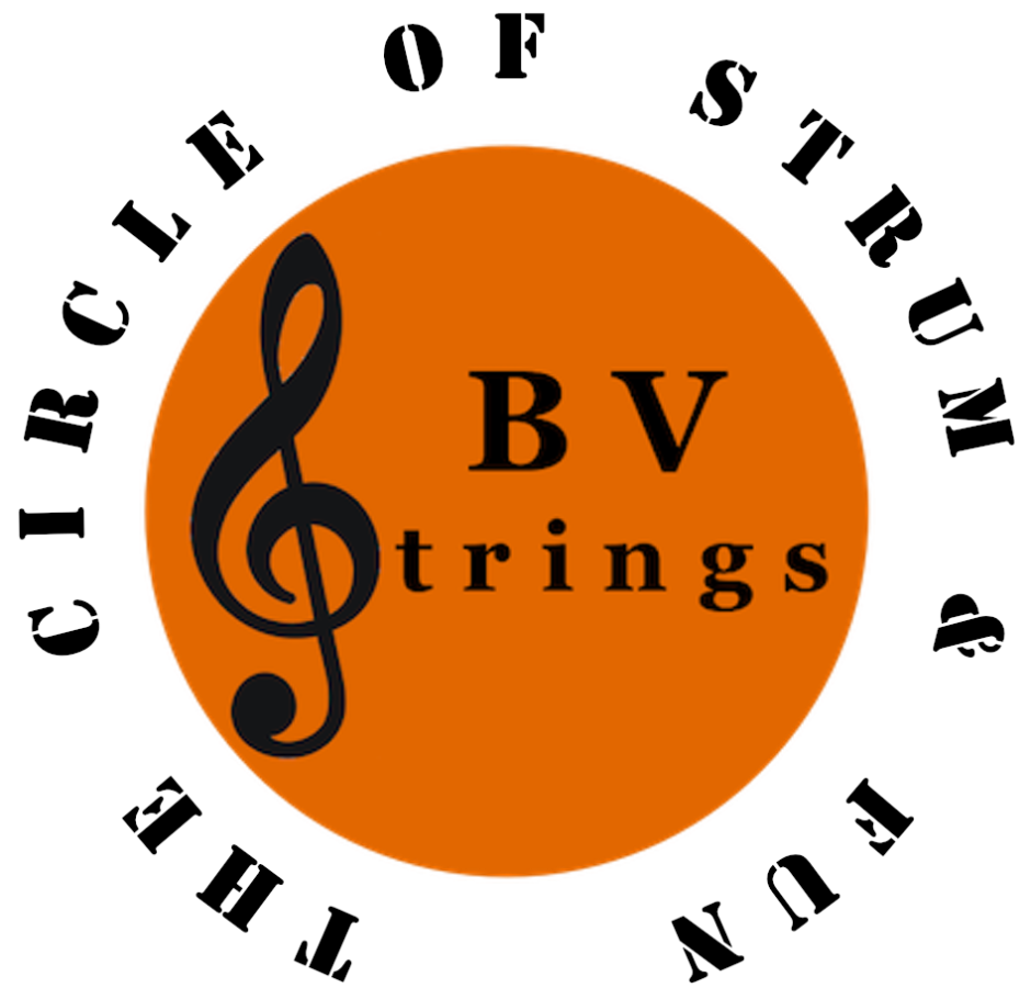 The Circle of Strum & Fun, BV~Strings logo